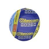 Cabo fio elétrico Cobrecom Flexicom 2,5mm azul claro 50m