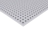 Chapa de gesso Knauf furação quadrada 12,5mm x 1,20m x 2,0m