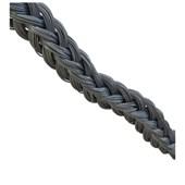 Cordão de nylon para piso Cordoflex prata 1m