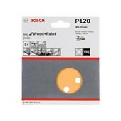 Disco de lixa Bosch C470 P120 5 unidades