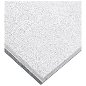 Forro de fibra mineral Armstrong Ceilings Cirrus tegular branco 19mm x 625mm x 625mm