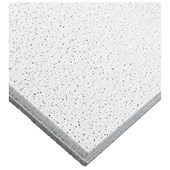 Forro de fibra mineral Armstrong Ceilings Fine Fissured tegular branco 16mm x 625mm x 625mm