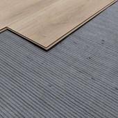 Manta para piso laminado EspaçoFloor Canelada cinza 20m²