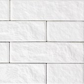 Revestimento de parede Santa Luzia Ecobrick Branco 75mm x 135mm x 9mm