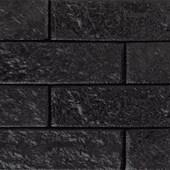 Revestimento de parede Santa Luzia Ecobrick Preto 75mm x 270mm x 9mm