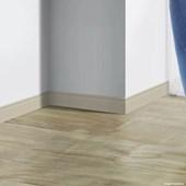 Rodapé de poliestireno EspaçoFloor frisado creme 10cm x 15mm x 2,20m